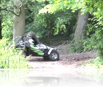 Steve at his Speed Of Sight Off Road Track Day at Reaseheath