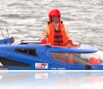 World Blind Water Speed Record 93mph November 2013