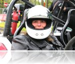 Caroline at the Trafford Centre Speed Of Sight Track Day