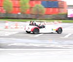 Owen at his Speed Of Sight Track Day experience at the Trafford Centre