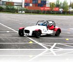 Alex driving our track car Simon at the Speed Of Sight Trafford Centre track day.