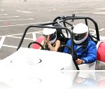 Emma-Rose at her Speed Of Sight track day at the Trafford Centre.