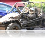Razmin at his Speed Of Sight off road driving experience at Reaseheath