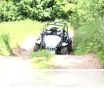 George at his Speed Of Sight Off Road Track Day at Reaseheath